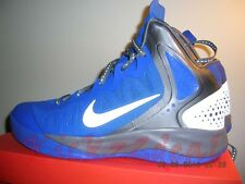 NEW NIKE ZOOM HYPERENFORCER PE SZ 11 13 Treasure Blue/Grey Hyperdunk 487655-400