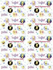 Happy Tree Friends Personalised Christmas Gift Wrap ADD NAME/S CHOOSE BACKGROUND