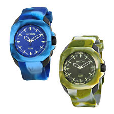 Nixon Ruckus Mens Rubber Watch - Choose color