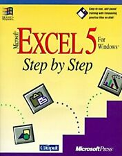 Microsoft EXCEL 5 for Windows Step by Step by Catapult Inc 1556155875 The Fast
