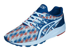 Asics Gel Kayano Trainer EVO Mens Running Sneakers / Retro Shoes - Blue White
