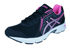 Asics Gel Impression 8 Womens Running Trainers / Sports Shoes - Black