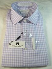 NWT COLLECTION by MICHAEL STRAHAN LONG SLEEVE DRESS SHIRT, Reg. Fit, Lavender