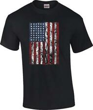 TALL Distressed American Flag Patriotic US Flag T-Shirt