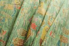Japanese Kimono Fabric| Country Life | Vintage | Silk| Patchwork | Quilt