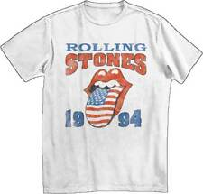 Rolling Stones 1994 Stones Rock Music Band Adult Mens T Tee Shirt White 31270749