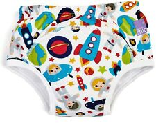 Bambino Mio REUSABLE POTTY TRAINING PANTS OUTER SPACE Kids Toilet Training - New