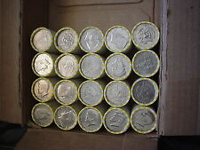 10 UNSEARCHED ROLLS Half Dollars-May Be Some cherrys Franklin or Kennedy Silver