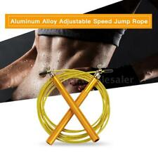 Skipping Jumping Rope Cable Wire Home Gym Fitness Boxing Training Exercise N1N2