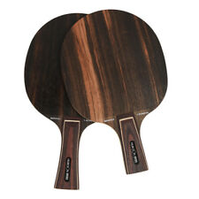 Professional Hard Ebony Wood Table Tennis Blade 7 Ply High Speed Ping Pong Blade