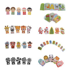 Baby Finger Puppet Baby Doll Preschool Educational Cognition Cartoon Animal Toys