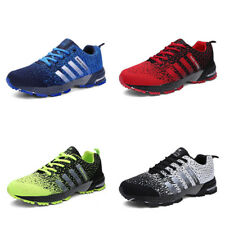 Mens Shoes Sports Athletic Outdoor Running Sneakers Breathable Casual Flats New