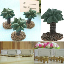 Palm Tree Wedding Place Card Holder Picture Memo Note Photo Name Clip Resin Base
