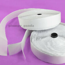 "WHITE Self Adhesive ( Hook + Loop ) Sticky Roll Fastener Tape (3/4"",1"", 1.5"",2"")"