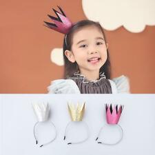 Fashion Shimmer Crown Pattern Hair Hoop Hair Accessories For Baby Girls SH