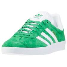 adidas Gazelle Trainers Green New Shoes Boxed