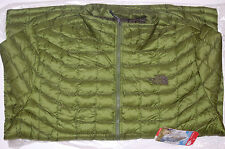 the north face mens thermoball insulated winter jacket scallion green medium