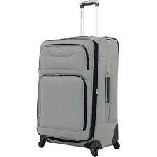 SwissGear Travel Gear 7297 Expandable Spinner Luggage Softside Checked NEW