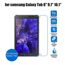 """for Samsung Galaxy Tab Tempered Glass Screen Protector Guard 7"""" 8"""" 9.7"""" 10.1 New"""