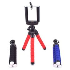 Mini Flexible Octopus Tripod + Holder Clip Stand Mount  for Cell Phone Camera DC