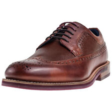 Ted Baker Deelani Mens Tan Leather Casual Brogues Lace-up Genuine Shoes