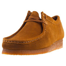 Clarks Originals Wallabee Mens Shoes Cola Suede New Shoes