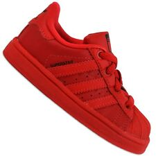 ADIDAS ORIGINALS SUPERSTAR II Children Shoes Sneakers Red Triple Red Trainers