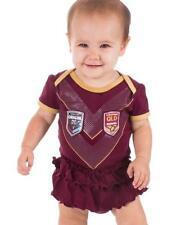 QLD Maroons State of Origin Girls Footysuit Sizes 000 - 0