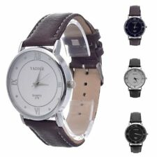 Women/Men's High-end fashion business casual classic Roman Numerals Wrist Watch