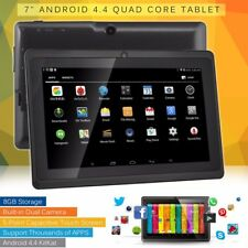 "7"" inch Google Android 4.4 Quad Core 8GB Dual Camera WiFi Bluetooth Tablet PC US"