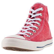 Converse Chuck Taylor All Star Hi Red Canvas Casual Trainers