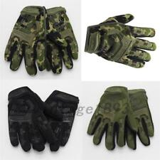 Outdoor Sports Full finger Military Tactical Airsoft Hunting Cycling Gloves US