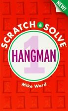New Scratch & Solve®: Hangman #1 by Mike Ward Book The Fast Free Shipping
