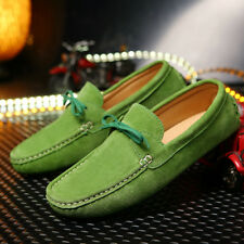 Genuine Suede Leisure Comfy 2017 Non-Slip Fashion Mens Moccasins Driving Shoes H