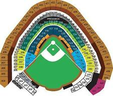 4 TICKETS ARIZONA DIAMONDBACKS @ MILWAUKEE BREWERS 5/23 *Sec 210 Row 15*