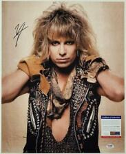 VINCE NEIL Signed 16x10 Photo #2 Motley Crue Vocalist Autograph ~ PSA/DNA COA