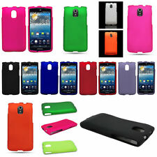 Hard Snap On Slim Rubber Shell Phone Cover Case for Pantech Discover