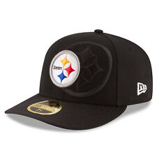 PITTSBURGH STEELERS NFL OFFICIAL SIDELINE NEW ERA 59FIFTY LOW PROFILE HAT NWT