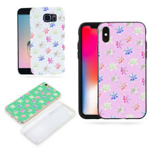 Colorful Lily Flower Case Cover for iPhone X (10) 7 8 Samsung Galaxy S8 Striking