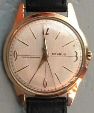 Vintage Benrus YGP Manual Wind Mens Watch Working