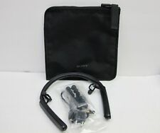 Sony WI 1000X/B Wireless Noise Cancelling Behind-Neck in Ear Headphones (Black)