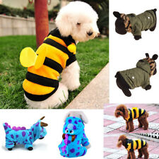 Pets Dog Cotton Jumpsuit Soft Warm Puppy Hoodie Coat Apparel Cosplay Costume