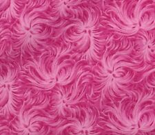 """10~2.5""""Jelly Roll OR 1.5"""" Honey Bun Quilting Fabric Strips Bright Flamingo Pink"""