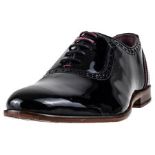Ted Baker Anice Brogue Mens Black Leather Shoes