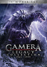 Gamera Showa & Heisei 11-Movie Legacy Collection 1965-1999 4-DVD NEW-NOT SEALED!