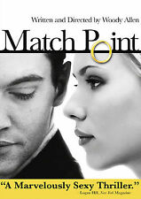 MATCH POINT (DVD, 2006) Widescreen - Woody Allen; Scarlett Johansson MINT