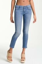 MOTHER THE LOOKER CROP WOMENS SKINNY JEANS IN FRENCH QUARTER WASH 31