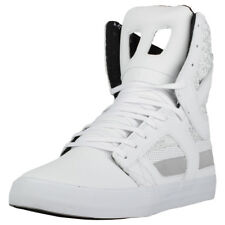 Supra Skytop Ii Mens White Leather Trainers