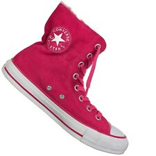 CONVERSE ALL STAR CHUCK TAYLOR CT CLR Scrunch Hi Pink Winter Shoes Padded