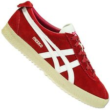 Asics Onitsuka Tiger Mexico Delegation 66 D601L-2199 Trainers Shoes Red Suede 48